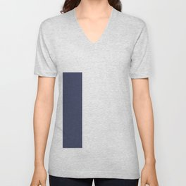 Geometric Art Blue Navy 2008 Unisex V-Neck