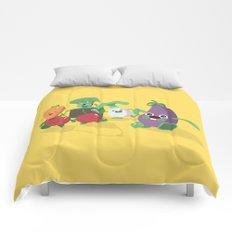 EAT VEGGIES Comforters
