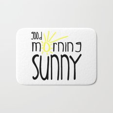 Good Morning Sunny Bath Mat