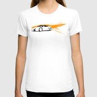 lamborghini T-shirts featuring Lamborghini Gallardo Vector   by Kaivan Askari