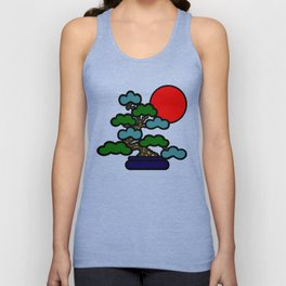 Sunrise Bonsai Unisex Tank Top