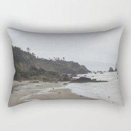 Indian Beach Rectangular Pillow