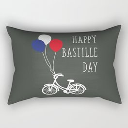 Balloon high upon the air - Bastille Day Rectangular Pillow