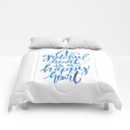 Grateful Heart Comforters