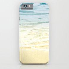 Kapalua Beach dream colours sparkling golden sand seafoam Maui Hawaii iPhone 6s Slim Case