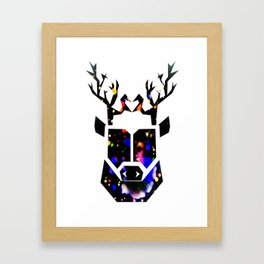 Oh Deer! Framed Art Print