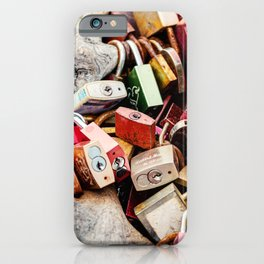 A Bunch of Locks iPhone Case