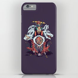 The Wolf Princess (Purple) iPhone Case