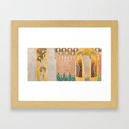 Beethoven Frieze by Gustav Klimt Framed Art Print