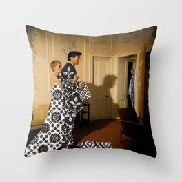 Gowns Throw Pillow