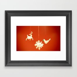 Wish you another wonderful new adventure in 2012:); Framed Art Print