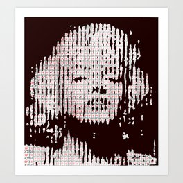 Monroe loves SC Art Print