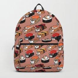 Sushi Shiba Inu Backpack