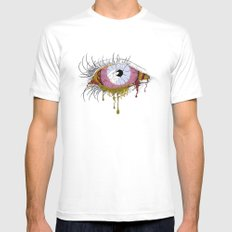 Sight of the Surgeon White Mens Fitted Tee MEDIUM