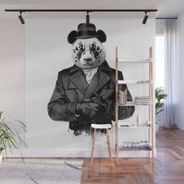 Rorschach Panda Wall Mural