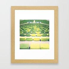 sea(ts) II Framed Art Print