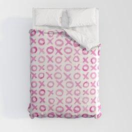 Xoxo valentine's day - pink Comforters