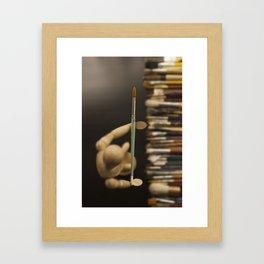Love of art Framed Art Print