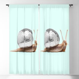 DISCO SNAIL Blackout Curtain