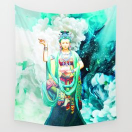 The Goddess of Mercy Wall Tapestry