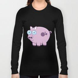 Cute cartoon piglets Long Sleeve T-shirt