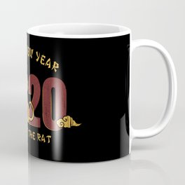 happy new year 2020 year of the rat 1 Coffee Mug