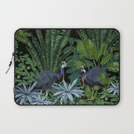Cassowary in the jungle Laptop Sleeve