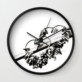 locks Wall Clock