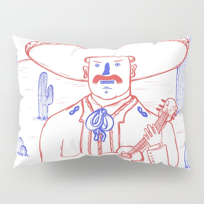 Mariachi in the Desert Pillow Sham