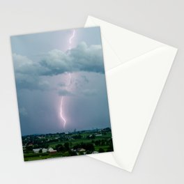 Lightning in the Valley Stationery Cards