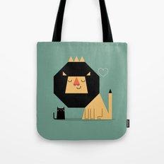 Love Lion Tote Bag