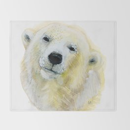 Polar Beary Throw Blanket
