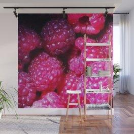 Summer with Raspberries Wall Mural