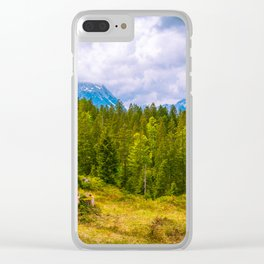 Seefeld in Tirol, Austria Clear iPhone Case