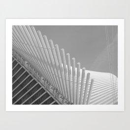 Milwaukee II by CALATRAVA Architect Art Print