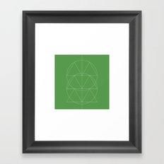#332 Totem – Geometry Daily Framed Art Print