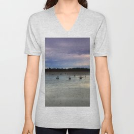 Lake Lonsdale Unisex V-Neck