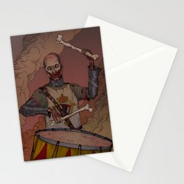 Drum Of Death Stationery Cards