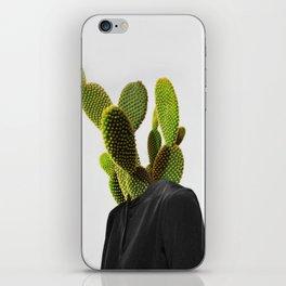 Cactus Woman 1 iPhone Skin