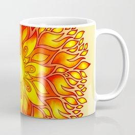 Fire Element Mandala Coffee Mug