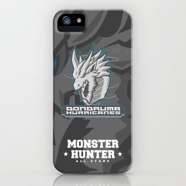 Monster Hunter All Stars - The Dondruma Hurricanes iPhone Case