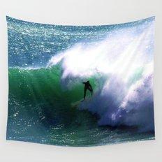 Surf Big Wall Tapestry