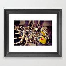 SPOON DUCK Framed Art Print