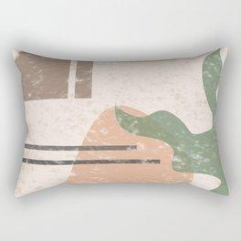 Abstract Ornament Rectangular Pillow