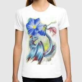 Dragon & flower T-shirt