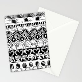 Aztec Doodle III Stationery Cards