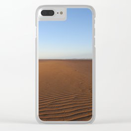 The Tide is Out Clear iPhone Case