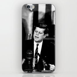 John F Kennedy JFK Speech iPhone Skin