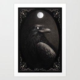 Crow Portrait Kunstdrucke