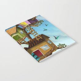 Home Sweet Tiny Tree Houses Notebook